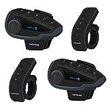 VNETPHONE V8 Bluetooth Motorcycle Intercom Motorcycle Communication System...