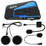 LEXIN LX-B4FM interfono moto, moto auricolare bluetooth con FM, interfono...