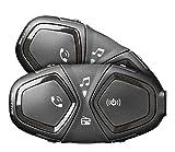 INTERPHONE cellularline ACTIVE - Interfono Moto Bluetooth - Pilota Pilota...