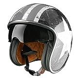 Origine Helmets Sprint Rebel Star Grey, Grigio/Nero, Taglia S