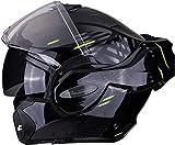 Casco moto Scorpion EXO-TECH PULSE Nero, Nero/Blu/Bianco, L