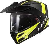 Casco moto LS2 FF324 METRO EVO RAPID MATT Nero Giallo P/J, Nero/Giallo, S