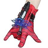 KKPLZZ Spiderman Launcher Glove, Kids Plastic Cosplay Glove Hero Launcher...