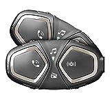 INTERPHONE CellularLine CONNECT - Interfono Bluetooth per comunicazione in...