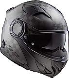 Casco moto LS2 FF313 VORTEX MATT CARBON, Nero, M