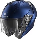 Shark HE8912EB06XS Evo Gt - Casco Moto Unisex - Adulto, Multicolore (Blue...