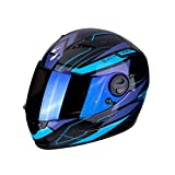 Scorpion EXO-490 NOVA Black-Blue L