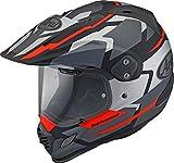 Arai Tour-X 4 Depart Casco motocross Grigio/Rosso