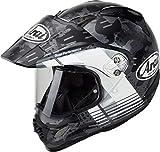Arai Tour-X4 Cover Casco motocross Grigio/Bianco