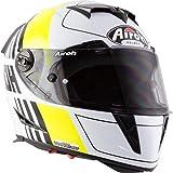 Airoh GP5SC31XS GP500 Scrape Casco Moto Giallo XS
