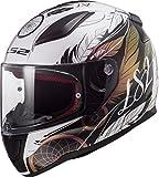 LS2 Rapid Boho, Casco per Moto Uomo, Multicolor, M