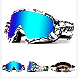 Ihrkleid, occhiali da motocross, motociclo, protezione antipolvere,...