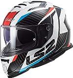 Ls2 Helmets Casco FF800 Storm Red Blue Taglia L