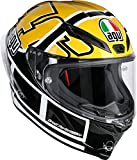 AGV Casco Moto Corsa R E2205 Top PLK, Rossi Goodwood, MS