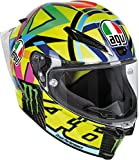 AGV Casco Moto Pista Gp R E2205 Top PLK, Soleluna 2016 Carbon, ML