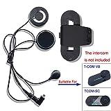 Accessori Staffa Clip Cuffie con Microfono per TCOM Moto Casco Bluetooth...