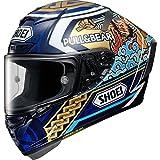Shoei X-Spirit 3 Marquez Motegi 3 Replica Motorcycle Helmet L Blue (TC-2)