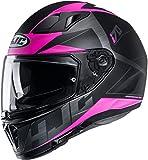 Casco moto HJC i70 ELUMA MC8SF, Nero/Pink, M