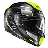 HJC Helmets Casco Moto Hjc Rpha 90 Rabrigo Fluo (S, Nero)