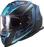 LS2 FF800 Storm Racer Casco Blu opaco