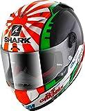 Shark Casco moto RACE-R PRO ZARCO 2017 KRG, Nero/Rosso, S