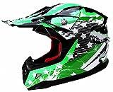 Casco Moto Bambino Motocross Integrale - YEMA YM-211 Caschi Bambini Motard...