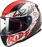 LS2, Casco integrale de moto Rapid, Naughty, BR L