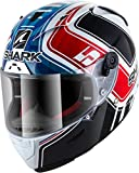SHARK Race-R PRO, Casco Moto Uomo, Bianco, L