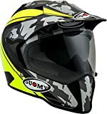 Suomy Casco Mx Tourer Desert, Matt Yellow Fluo, XL