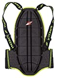Zandonà Paraschiena Shield Evo X7 High Visibility, Nero, M