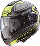 Caberg CASCO LEVO FLOW BLACK/ANTHRACITE/YELLOW FLUO XL