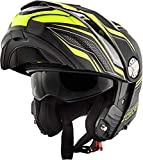 GIVI Casco modulare - X.33 Canyon Layers (XXL, NERO GIALLO)