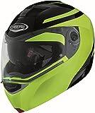 Caberg Helm Modus Duale Schwarz Neongelb Hi Vizion, 30870095, Größe L...
