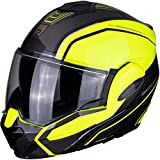 Scorpion EXO-TECH TIME OFF Neon Yellow-Silver L