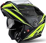 Airoh PHSEV31-XXL Phantom-S Evolve Yellow Gloss XXL, Giallo, XXL