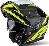 Airoh PHSEV31 Phantom-S Evolve Yellow Gloss S, Giallo, S