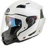 AIROH EX14 Executive Color White Gloss M, Bianco, M