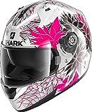 Casco moto Shark RIDILL 1.2 NELUM WKV, Nero/Pink, XS