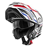 GIVI Casco modulare Dual Sport Canyon x33 Layers Bianco Rosso M