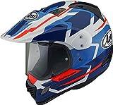ARAI Tour X4 Depart Blu Adventure Casco per Moto Taglia L