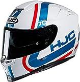 Casco moto HJC RPHA 70 GAON MC21, Bianco/Blu/Rosso, M