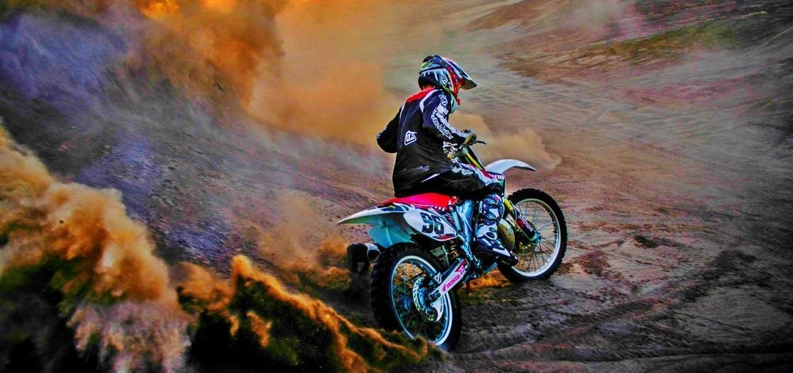 motocross casco