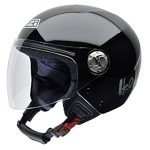 casco jet helix IV con bluetooth