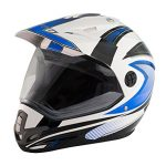 casco motocross enduro anti nebbia