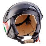 moto h44 italy casco d'epoca per vespa
