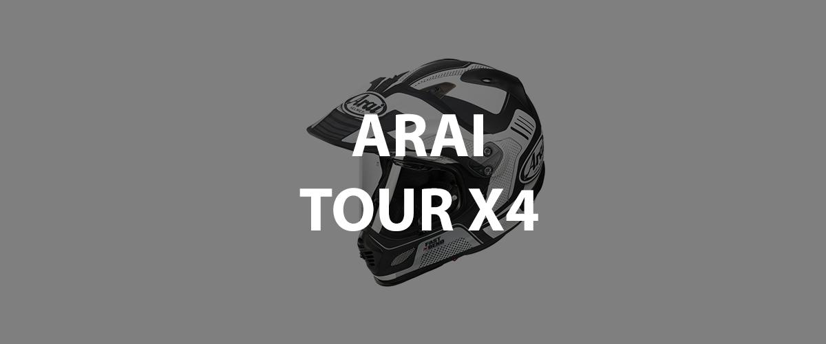 casco arai tour x4