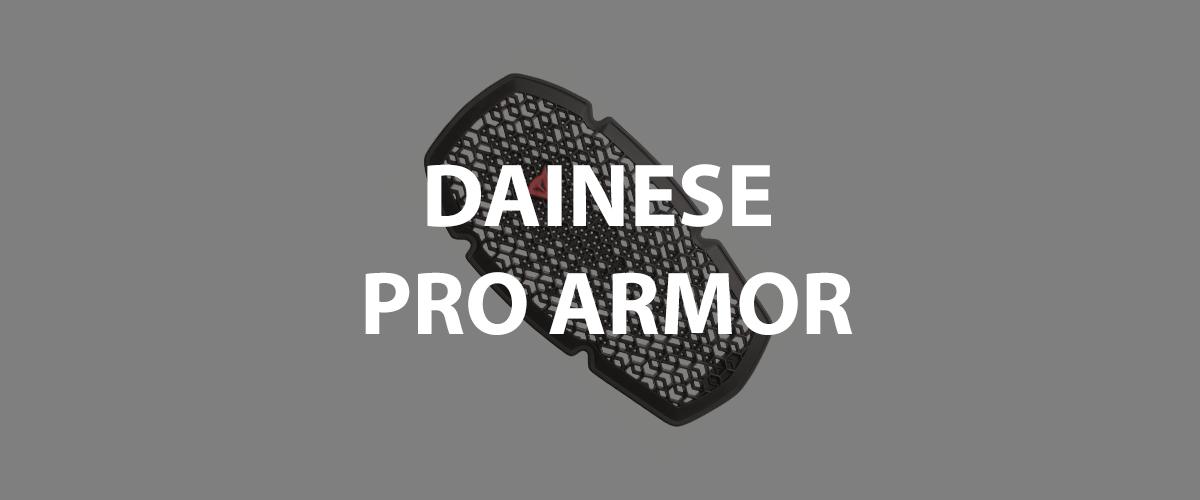 dainese pro armor