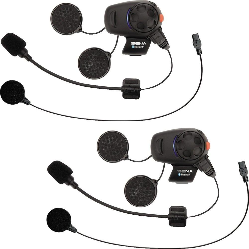 Sena SMH5-UNIV SMH5 Auricolare Bluetooth e Citofono per Scooter e Motocicli...