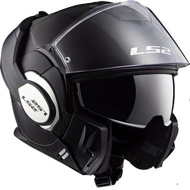 casco ls2 ff399 valiant solid modulare