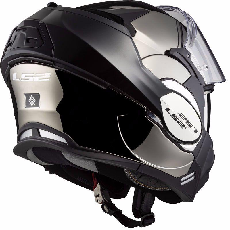 casco modulare ls2 ff399 con mentoniera ribaltabile
